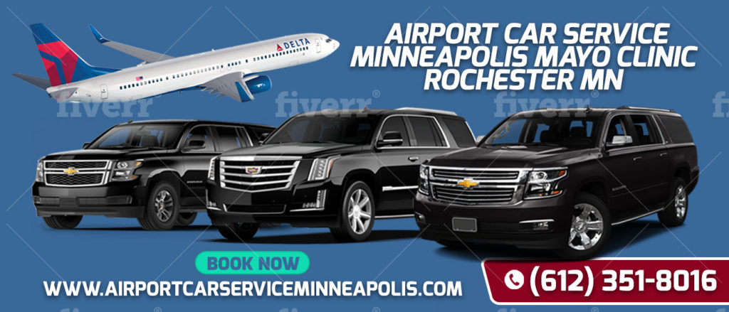Book Ride MSP AIRPORT LIMO TO MAYO CLINIC ROCHESTER MN
